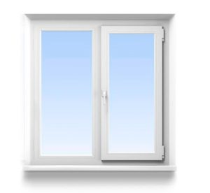 Цена на стандартное окно ПВХ