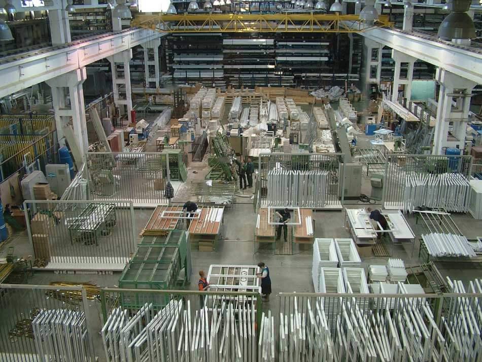 Цех по производству ПВХ окон в Москве